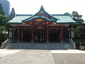 江戸三大祭りのひとつです。