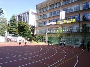 新校舎に新校庭